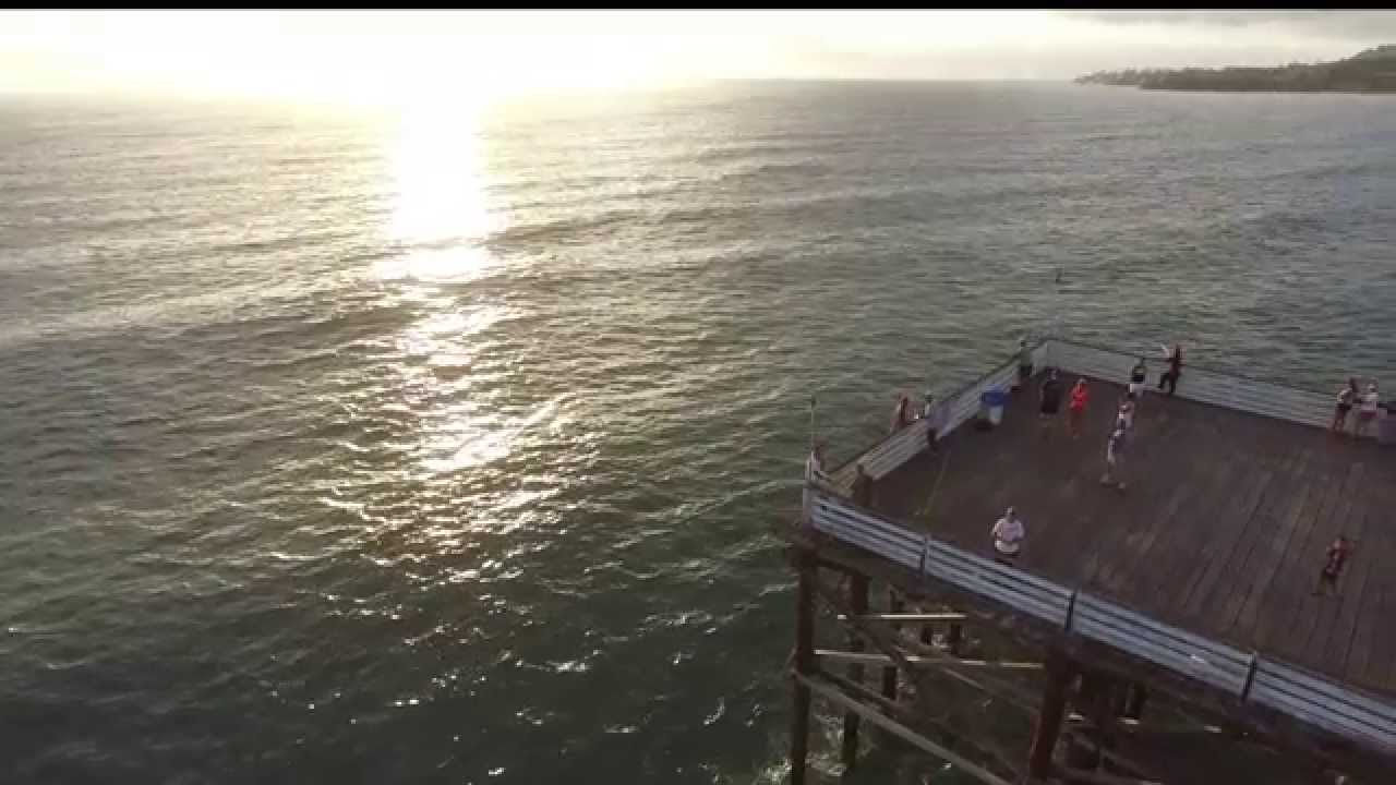 Flyfishing for drones lands a dji in pacific beach for Crystal pier fishing